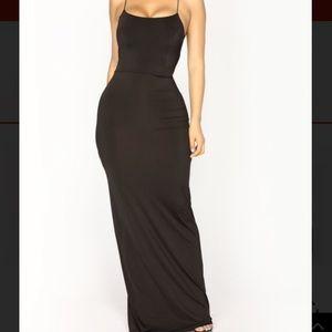 5 for $25 fashion nova maxi dress open back
